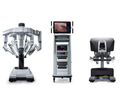 Τα στοιχεία που αποτελούν το ρομποτικό σύστημα da vinci
